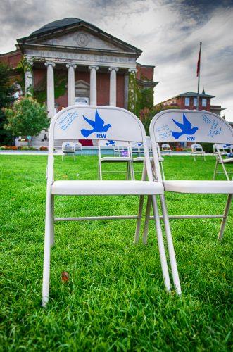 Chair representing seat 31K