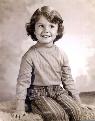Karen Hunt, 1972.