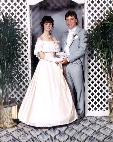 Karen Hunt, Senior Prom. 1986. Photo Credit: Pan Am Flight 103/Lockerbie Air Disaster Archives at Syracuse University: The Karen Lee Hunt Family Papers.