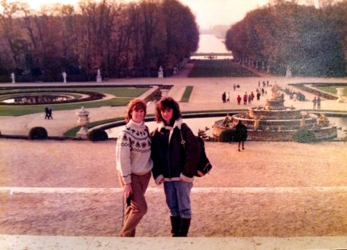 Peggy and Karen Hunt, France, 1988