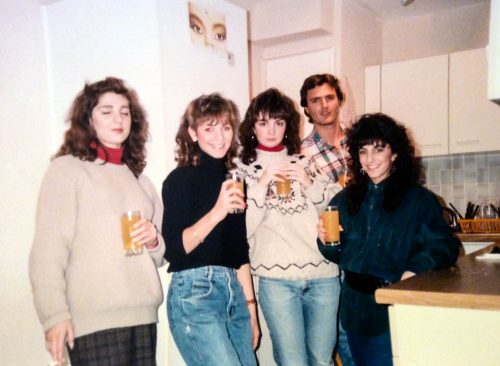 Karen Hunt and Friends. December, 1988